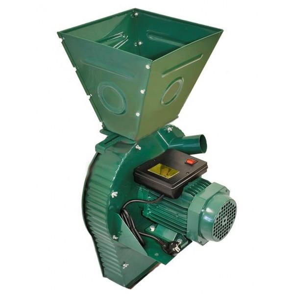 Зернодробилка MASTER KRAFT IZKB-4000 (зерно + початки кукурузы), 4 кВт