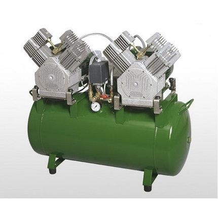 Безмасляный компрессор DK50 2x2V/100, фото 2