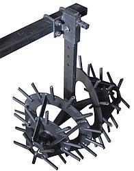 Культиватор Ёж для мотоблока (1 секция)(на подшипниках) Премиум