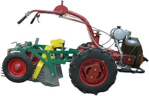 Картофелекопатель мотоблочный КВГ-400 (МОТОБЛОК «МОТОР СІЧ МБ-4,05»)Роста, фото 2