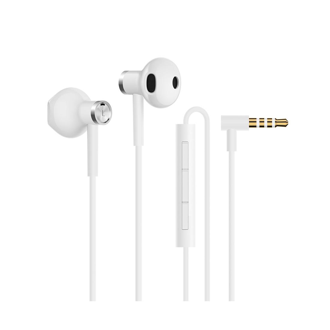 Xiaomi ZBW4406TY Наушники Mi Dual Driver Earphones ,Белый