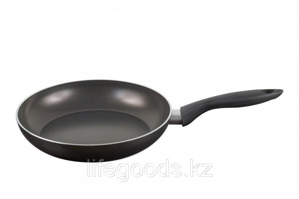 Сковорода 220 мм, 1 ручка, без крышки, ТМ Калитва 83221