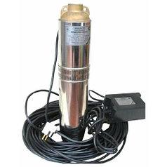 Скважинный насос Водолей БЦПЭ 0,5-63У (40 м кабеля)