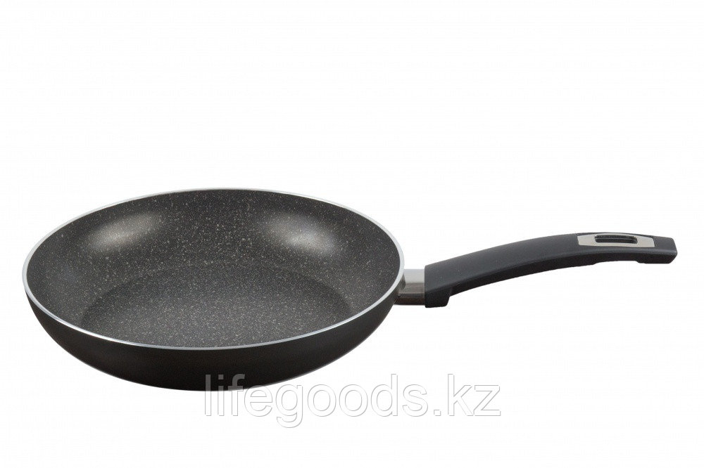 Сковорода 220 мм, 1 ручка, без крышки, ТМ Калитва 3872215