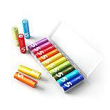 Xiaomi NQD4000RT Батарейки AA ZMI Rainbow 5, 1.5V, 10 шт в упаковке., Пластиковый бокс, фото 2