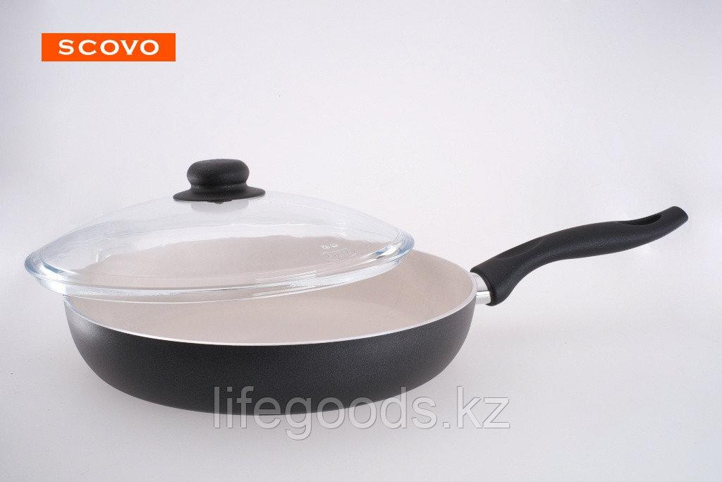 Сковорода  Scovo Medeya, 20 см, с крышкой SM-007