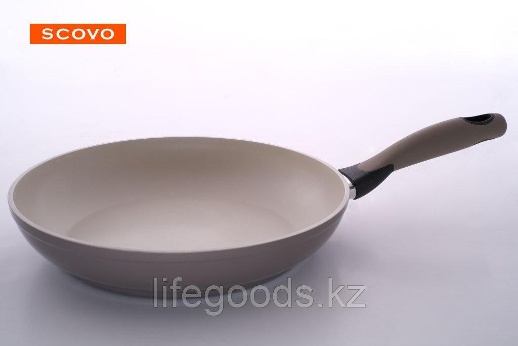 Сковорода  Scovo Nature Ceramic, 20 см, без крышки NU-001