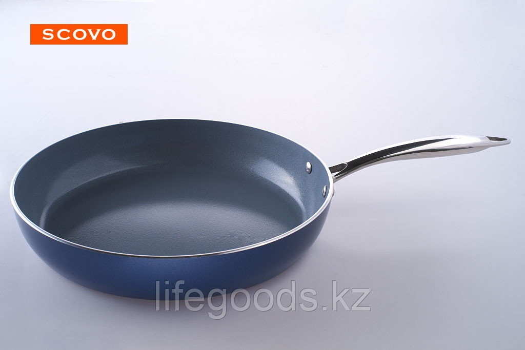 Сковорода  Scovo Nano Ceramic, 20 см, без крышки NA-001