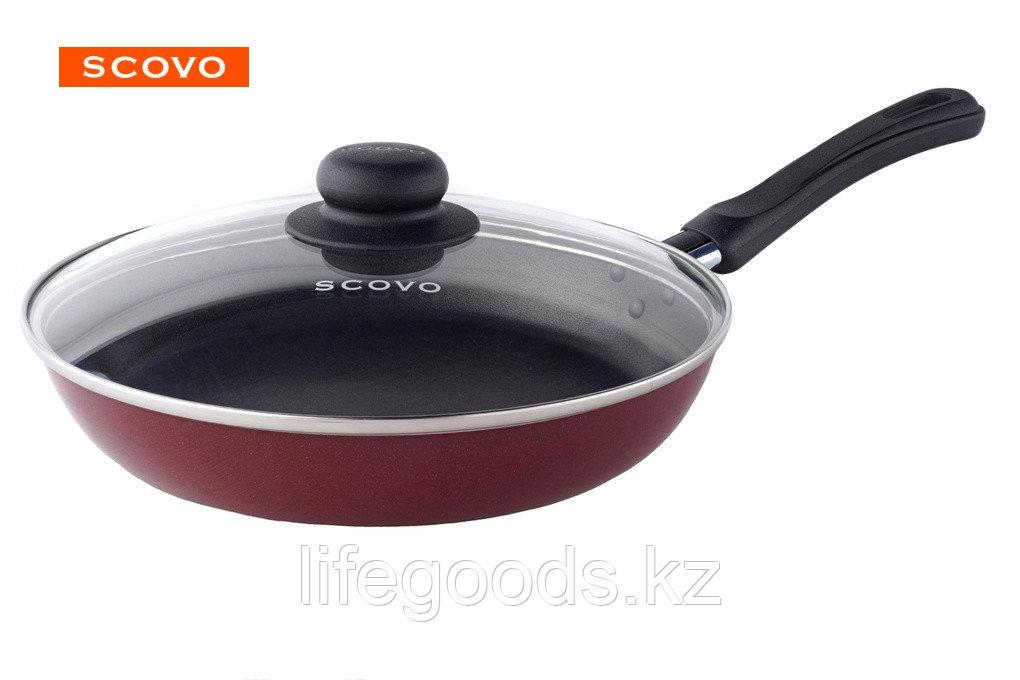 Сковорода  Scovo Expert, 22 см, с крышкой СЭ-027