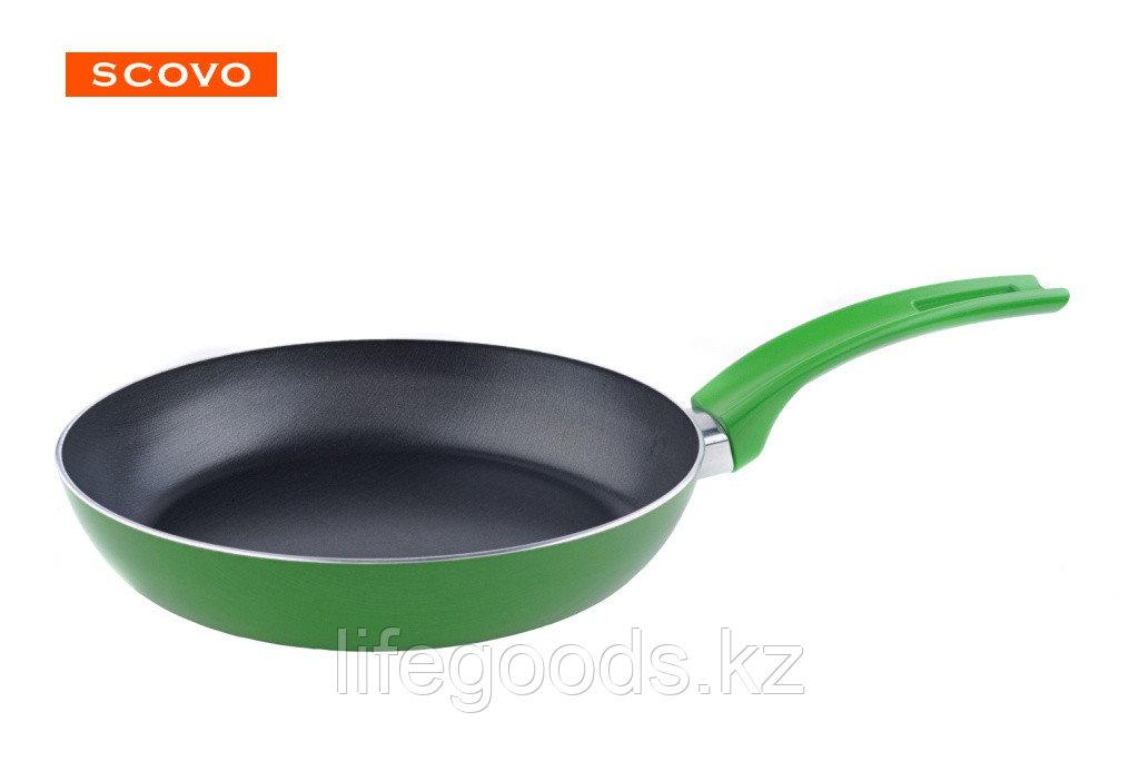 Сковорода Scovo Lime, 26 см, без крышки RT-004L