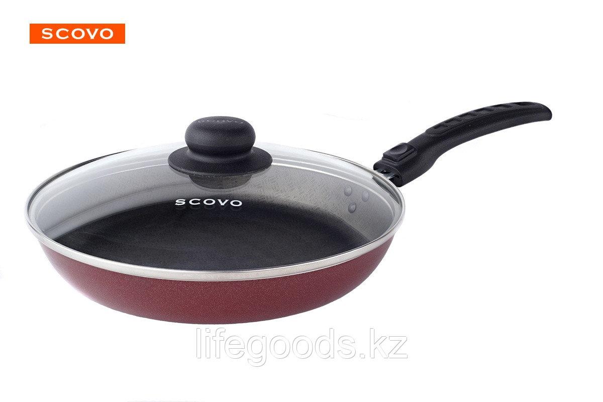 Сковорода  Scovo Alpha, 22 см, с крышкой AL-008