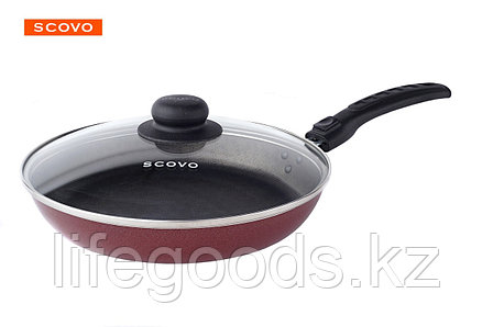 Сковорода  Scovo Alpha, 22 см, с крышкой AL-008, фото 2