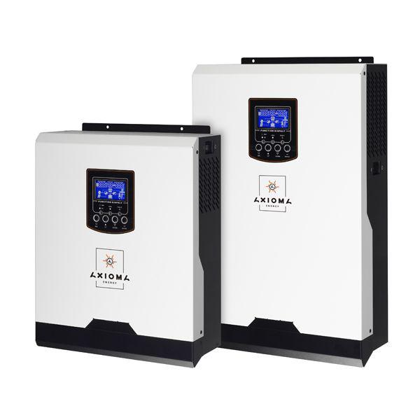Гибридный ИБП 2000ВА, 24В + ШИМ контроллер 50А, ISPWM 2000, AXIOMA energy