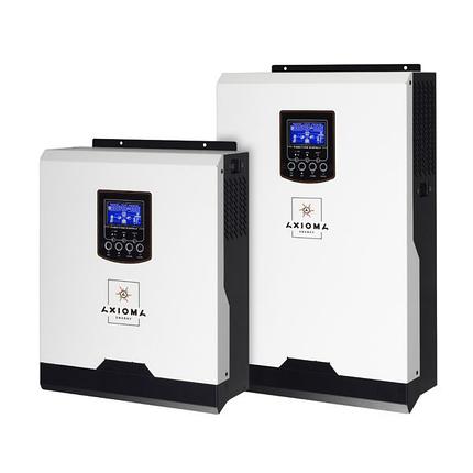 Гибридный ИБП 2000ВА, 24В + ШИМ контроллер 50А, ISPWM 2000, AXIOMA energy, фото 2