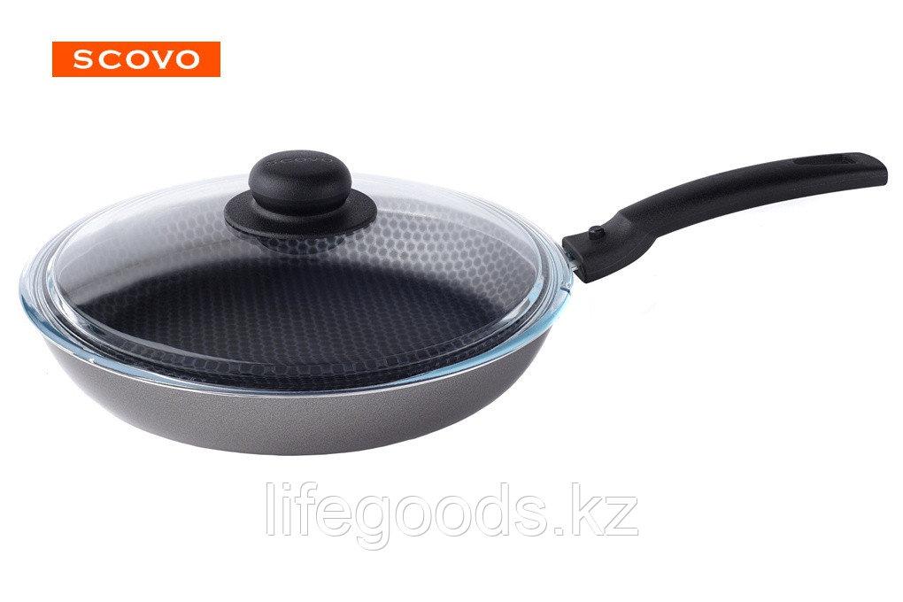 Сковорода  Scovo Discovery, 26 см, с крышкой СД-029