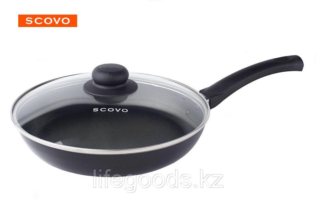 Сковорода  Scovo Consul, 24 см, с крышкой RC-009