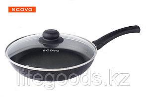 Сковорода  Scovo Consul, 24 см, с крышкой RC-009, фото 2