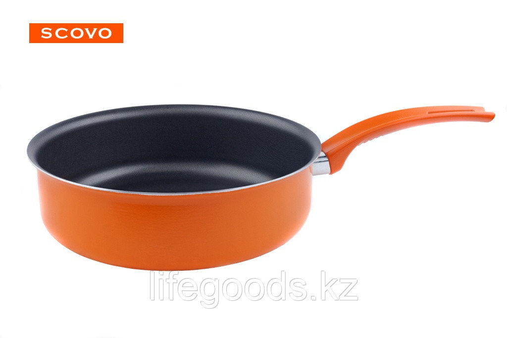 Сотейник Scovo Orange, 24 см, без крышки RT-015O