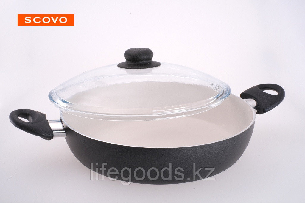 Жаровня Scovo Medeya, 26 см, с крышкой SM-041