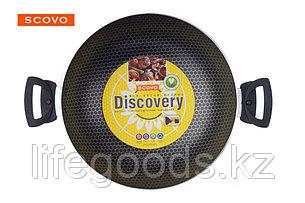 Казан Scovo Discovery, 28 см, с крышкой СД-046, фото 2