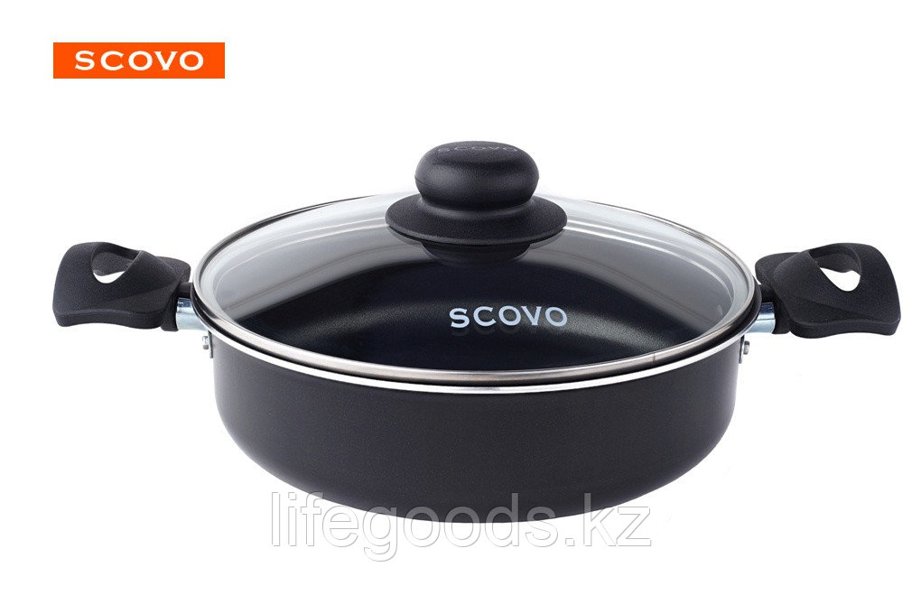 Жаровня Scovo Consul, 24 см, с крышкой RC-040