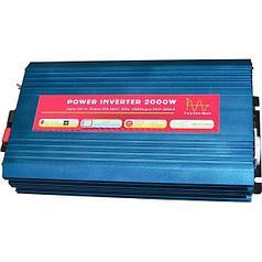 Инвертор NV-P 2000Вт/12В-220В