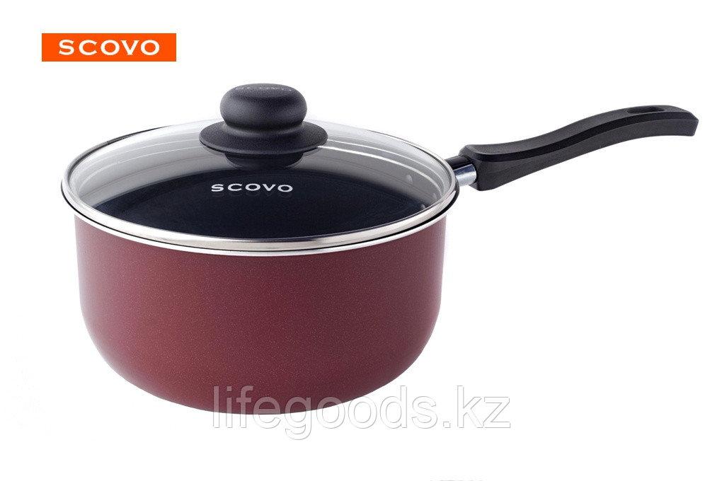 Ковш Scovo Expert, 1,3 л, с крышкой СЭ-034