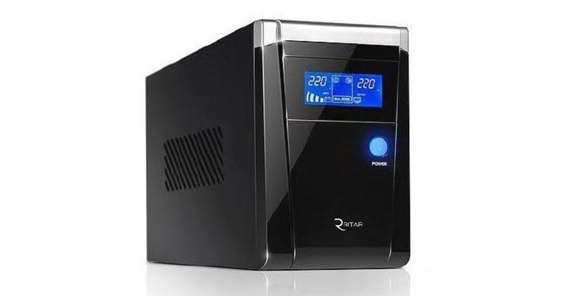 Источники бесперебойного питания RITAR RTSW-600 LCD, фото 2