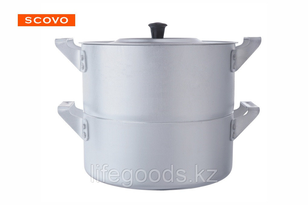 Овощеварка алюминиевая, 2,5л МТ-045