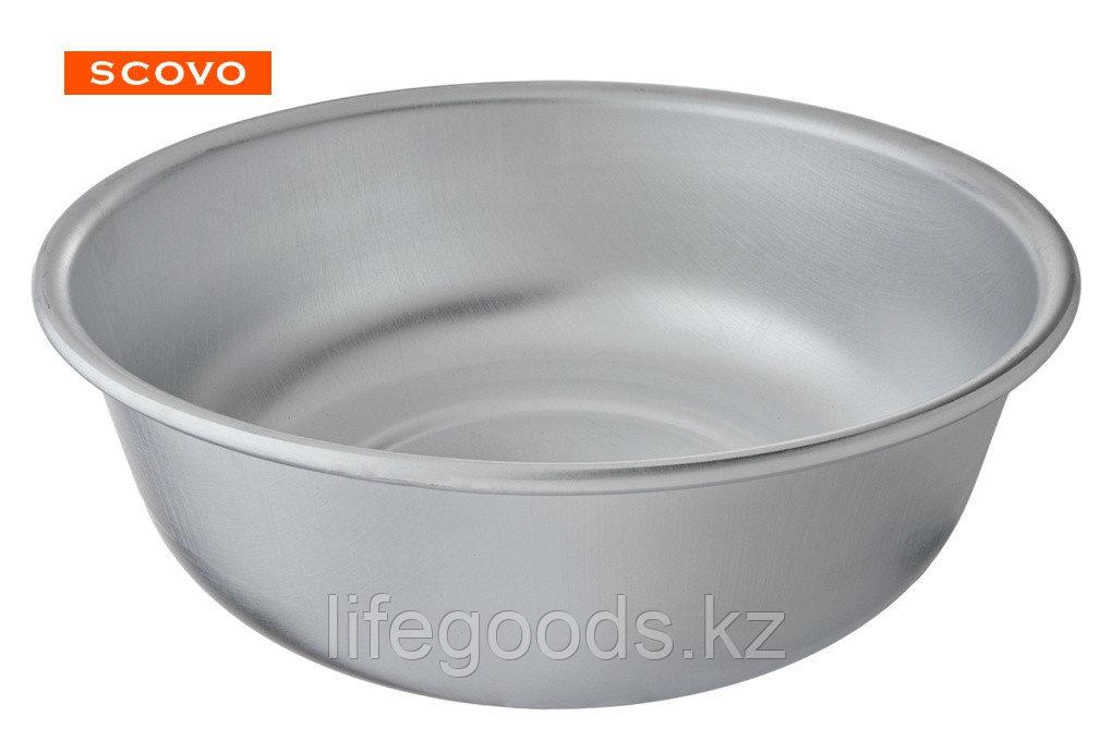 Миска алюминиевая, 1 л, без крышки МТ-069