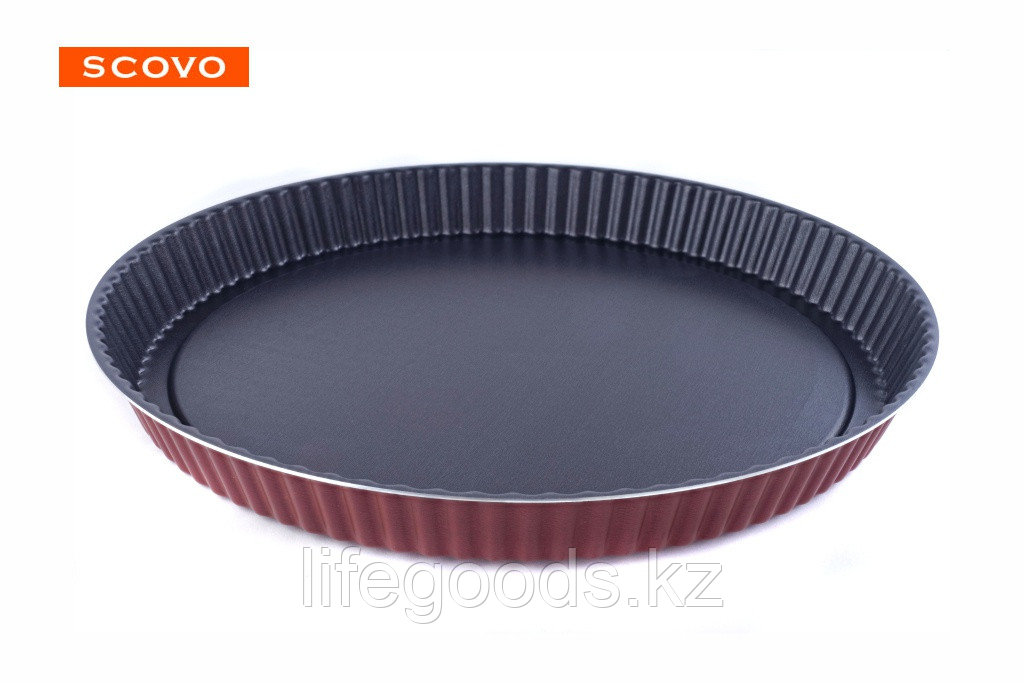 Форма для пирога (кростата) Scovo Забава, 28 см RZ-054