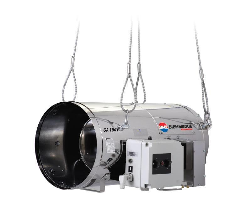 Теплогенератор прямого нагрева Ballu GA/N 100 - C