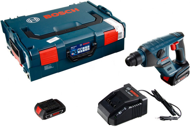 Перфоратор аккумуляторный Bosch GBH 18 V-Li Compact, фото 2