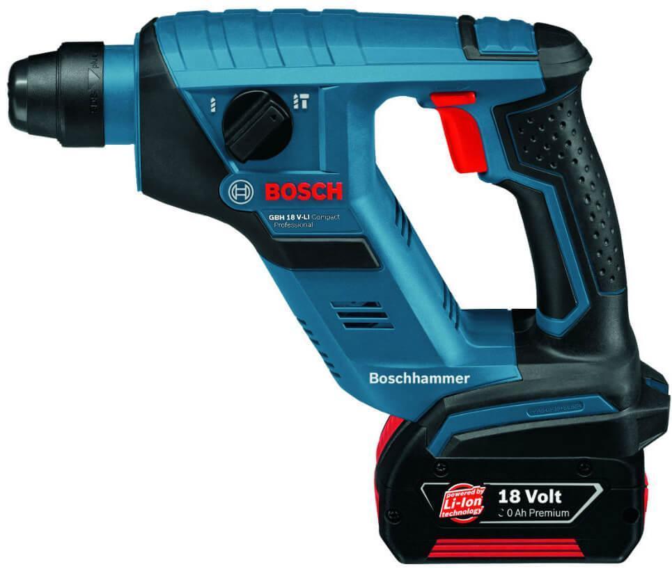 Перфоратор аккумуляторный Bosch GBH 18 V-Li