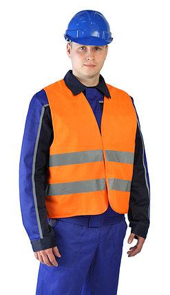 Оранжевый сигнальный жилет в Алматы, фото 2