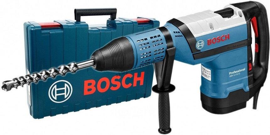 Перфоратор Bosch SDS-max GBH 12-52 D, фото 2