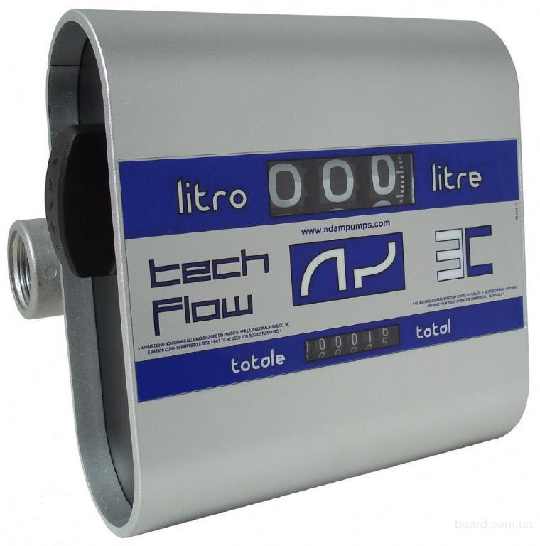 Счетчик раздачи топлива Adam Pumps Tech Flow 3C