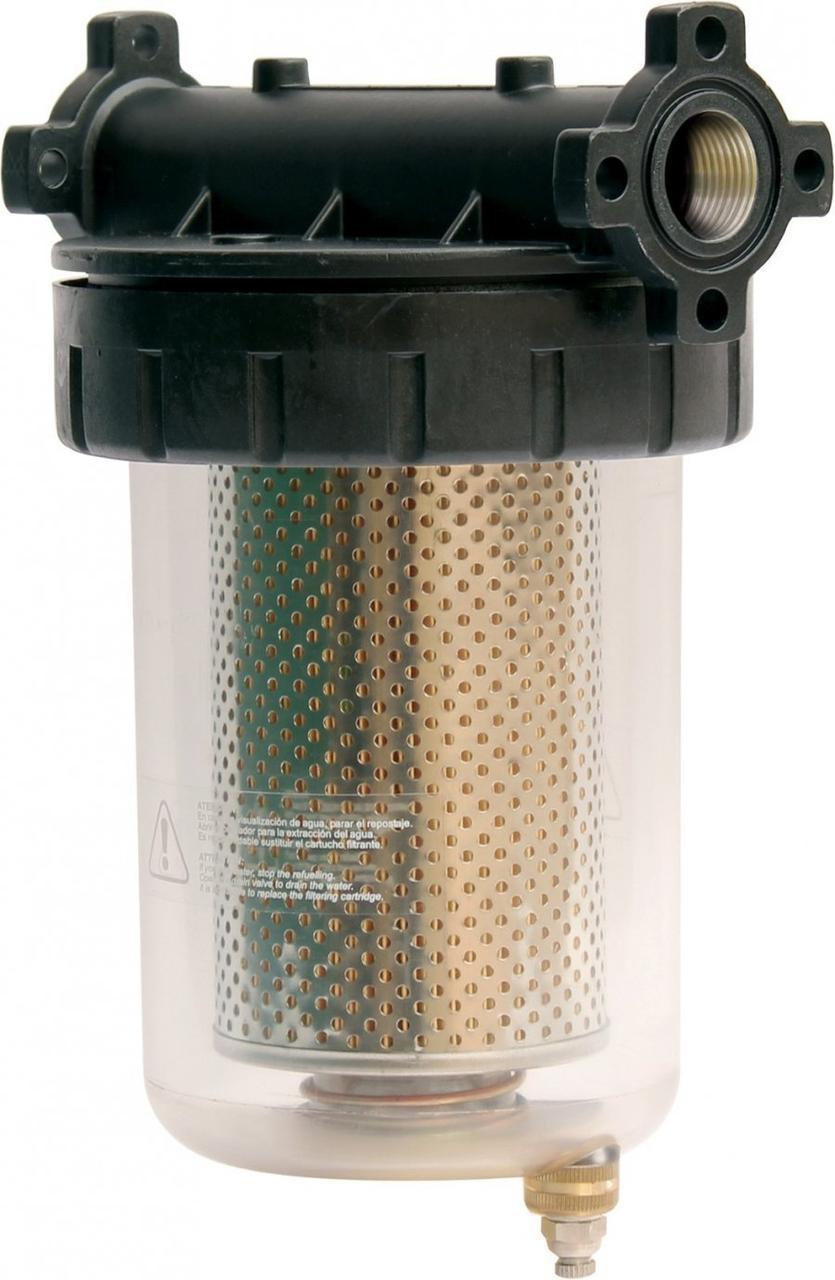 Фильтр Gespasa FG-100 BIO сепаратор тонкой очистки дизельного топлива 25 микрон, до 105 л/мин