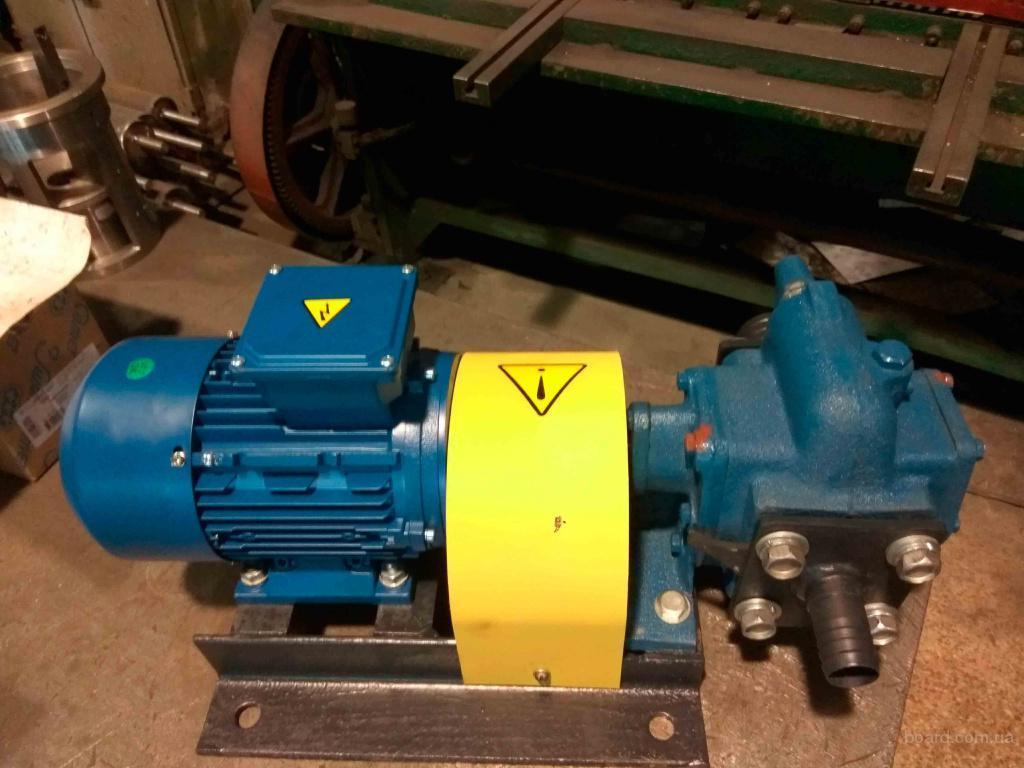 Шестеренный насос НМШ 2-25-1,6/16 2.2 кВт