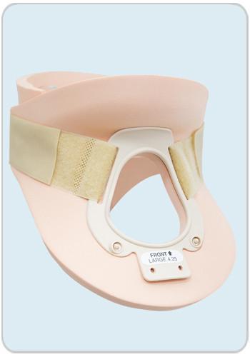 Жесткий ортопедический воротник (бандаж) с отверстием для трахеотомии