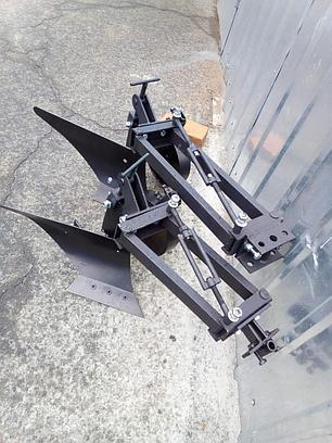Плуг мотоблочный с опорным колесом Zirka-61 (короткий), фото 2