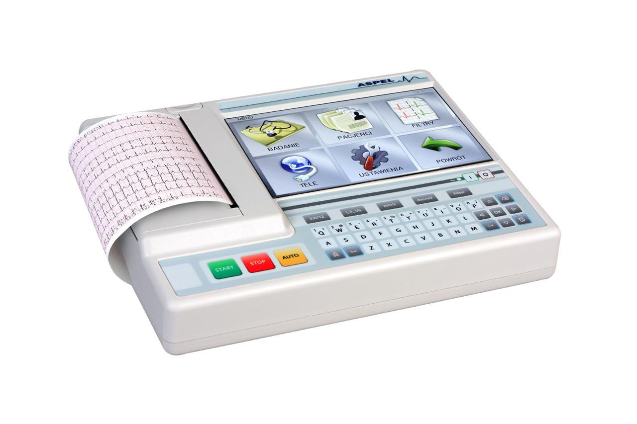Электрокардиограф AsCARD Grey v.07.305