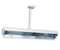Бактерицидная лампа прямого действия NBV 2x30 S: без счетчика рабочего времени