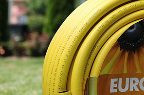 Шланг садовый Tecnotubi Euro Guip Yellow для полива диаметр 1/2 дюйма, длина 20 м (EGY 1/2 20), фото 2