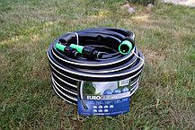 Шланг садовый Tecnotubi Euro Guip Black для полива диаметр 1/2 дюйма, длина 25 м (EGB 1/2 25), фото 3
