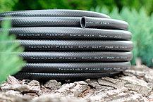 Шланг садовый Tecnotubi Euro Guip Black для полива диаметр 3/4 дюйма, длина 50 м (EGB 3/4 50), фото 2