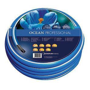 Шланг садовый Tecnotubi Ocean для полива диаметр 3/4 дюйма, длина 20 м (OC 3/4 20), фото 2