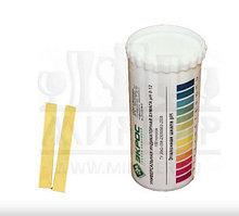 Бумага индикаторная 0-12 pH в тубе, 100 штук