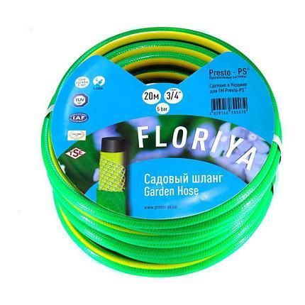 Шланг поливочный Evci Plastik Флория диаметр 3/4 дюйма, длина 30 м (FL 3/4 30), фото 2