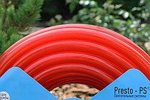 Шланг для полива Evci Plastik Софт Силикон (Caramel красный) садовый диаметр 3/4 дюйма, длина 50 м (SE-3/4 50), фото 3